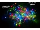 LED Novogodišnje lampice 100 kom. 10 metara VIŠE BOJA