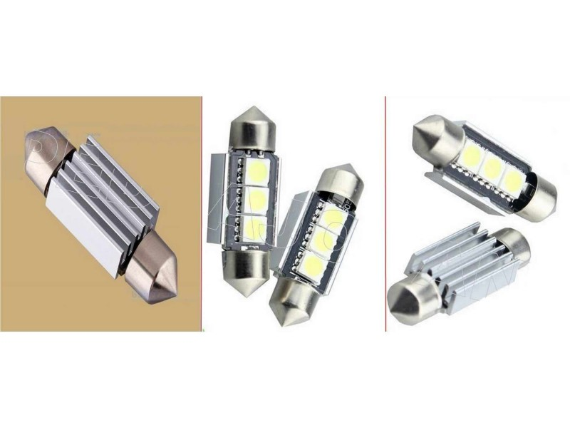 LED Sijalica - 39 mm - CANBUS 3 SMD - 2 komada