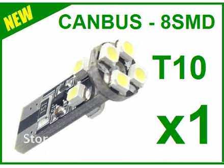 LED Sijalica - T10 CANBUS - 8 dioda - 1 komad