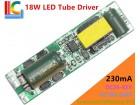 LED Tube driver T8 9-18W 230mA