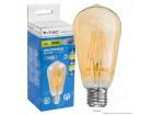 LED amber sijalica DIMABILNA 4W FILAMENT E27 ST64