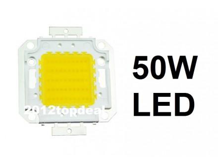 LED dioda 50W menja 500W - 4500Lm