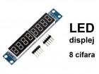 LED displej - 8 cifara - MAX7219
