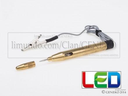 LED probna lampa glinerica 6-24V
