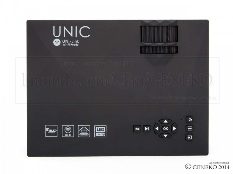 LED projektor UNIC WIFI