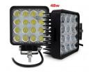 LED radni far maglenka 48w 16 dioda