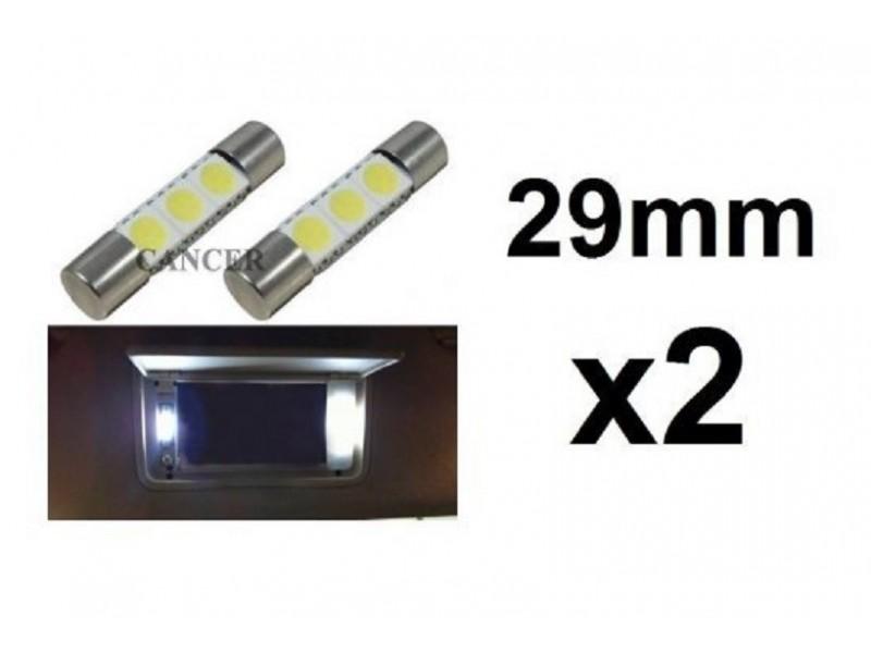 LED sijalica - 29 mm - 3 SMD - 2 kom