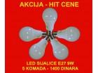 LED sijalica 9W ( 5 komada )