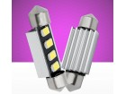 LED sulfidna Festoon C5W 4smd 5630 36mm CANBUS