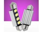 LED sulfidna Festoon C5W 4smd 5630 39mm CANBUS 2 komada