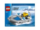 LEGO CITY / POLICE DINGHY