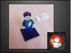 LEGO CUSTOM figura Sandman (MARVEL)