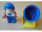 LEGO/DUPLO komplet - klovn + top
