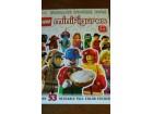 LEGO MINIFIGURES STICKER BOOK