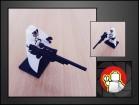 LEGO figura Fantomex (MARVEL)