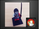 LEGO figura Katana (DC UNIVERSE)