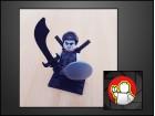 LEGO figura Shade (NINJAGO)