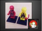 LEGO figure Flash i Reverse Flash (DC UNIVERSE)