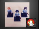 LEGO figure Harry, Ron i Hermione (HARRY POTTER)