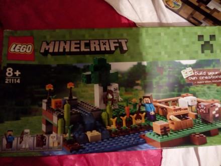 LEGO minekraft FARMA