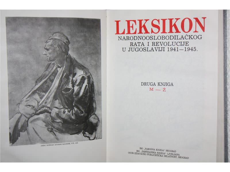 LEKSIKON NOB RATA I REVOLUCIJE U JUG.1941-1944.
