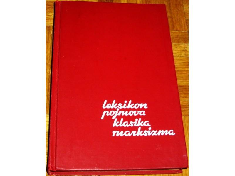 LEKSIKON POJMOVA KLASIKA MARKSIZMA - Marijan Filipović