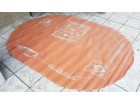LEP TEPIH - Ovalni Narandzasti Model - 270x190cm