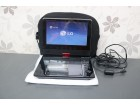 "LG 7"" portable DVD player / USB / 3 sata baterija"