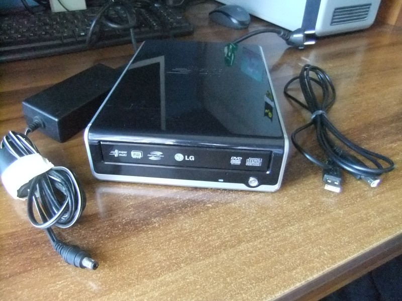 LG Eksterni CD-DVD rezac na USB + GARANCIJA!