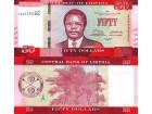 LIBERIA 50 Dollars 2016/2017 UNC, P-33