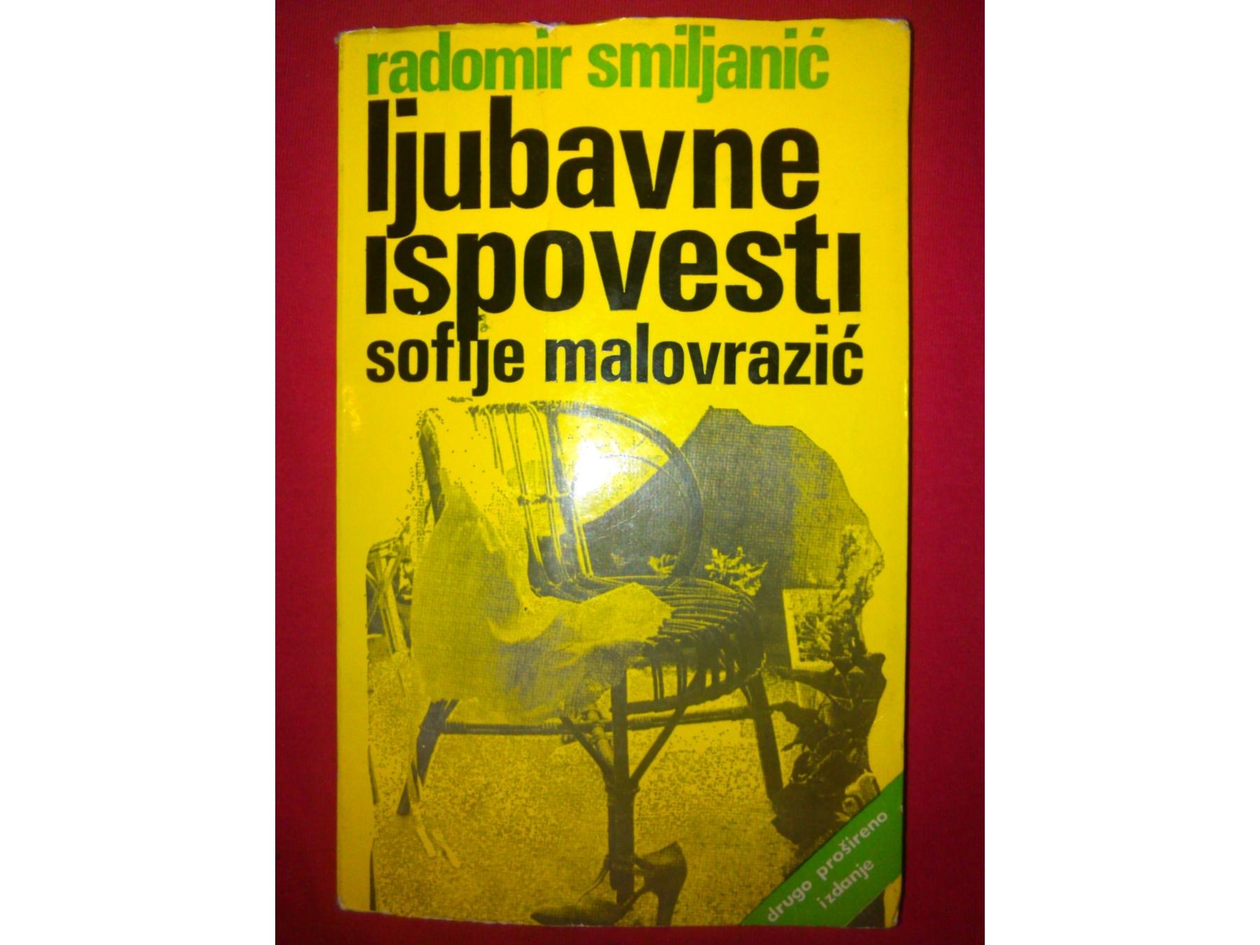 LJUBAVNE ISPOVESTI SOFIJE MALOVRAZIC - Kupindo.com (23798757)
