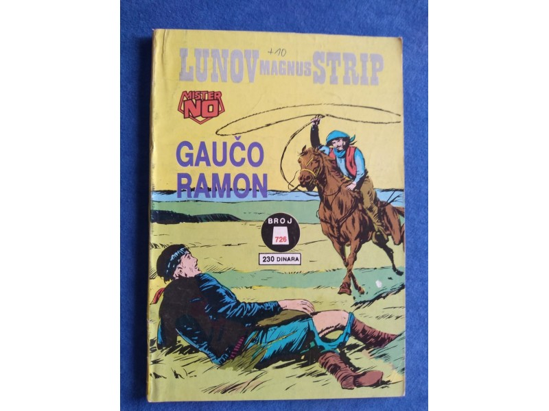 LMS 726 - GAUCO RAMON - MISTER NO