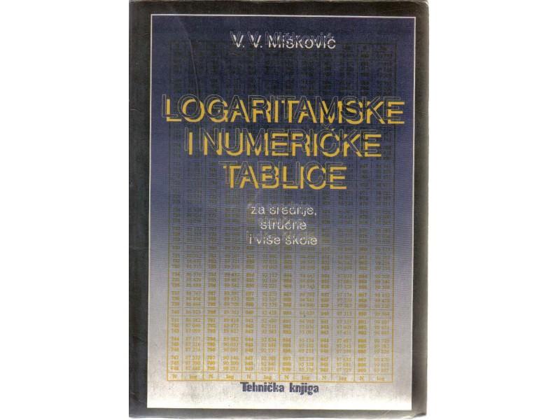 LOGARITAMSKE I NUMERICKE TABLICE
