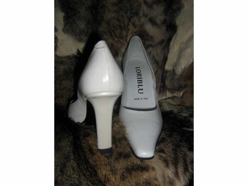 LORIBLU -cipele kozne -  36 -bele-za venčanje