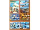 LOT od 8 razglednica GRČKE - nekorišćene