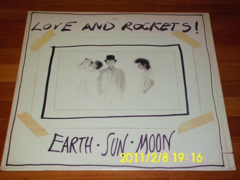 LOVE AND ROCKETS - Earth - Sun - Moon