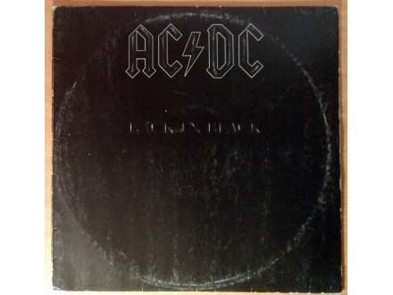 LP AC/DC - Back In Black (1981) Suzy, 1. pressing
