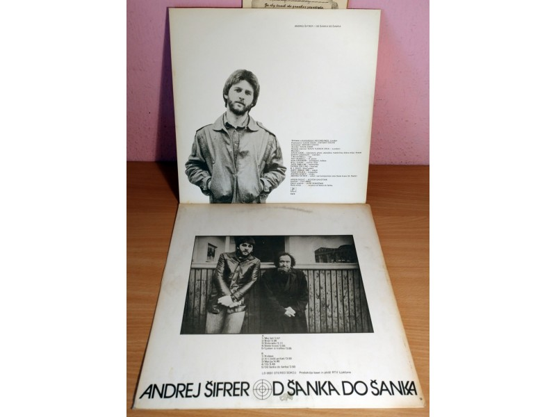 LP ANDREJ ŠIFRER - Od šanka do šanka (1979) 2. pressing