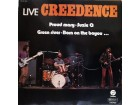 LP: CREEDENCE CLEARVATER REVIVAL - LIVE CREEDENCE