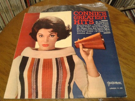 LP -  Connie Francis ‎– Connie`s Greatest Hits