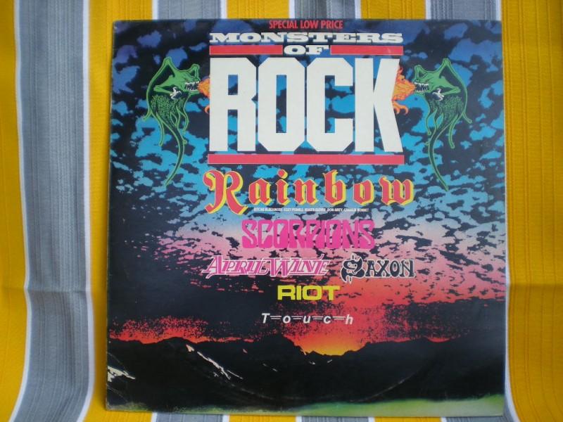 LP Ploca  Razni izvodjaci - Monsters Of Rock