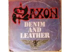 LP SAXON - Denim And Leather (1982) Jugotonac