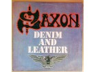LP SAXON - Denim And Leather (1982) ODLIČNA