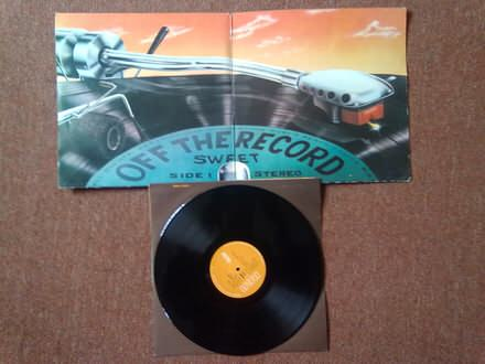 LP: Sweet - Off The Record