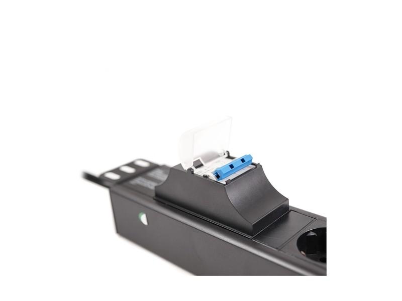LanPlus PDU 220V LP-1.5U-6SCH-2P 2osigurača 2.0m