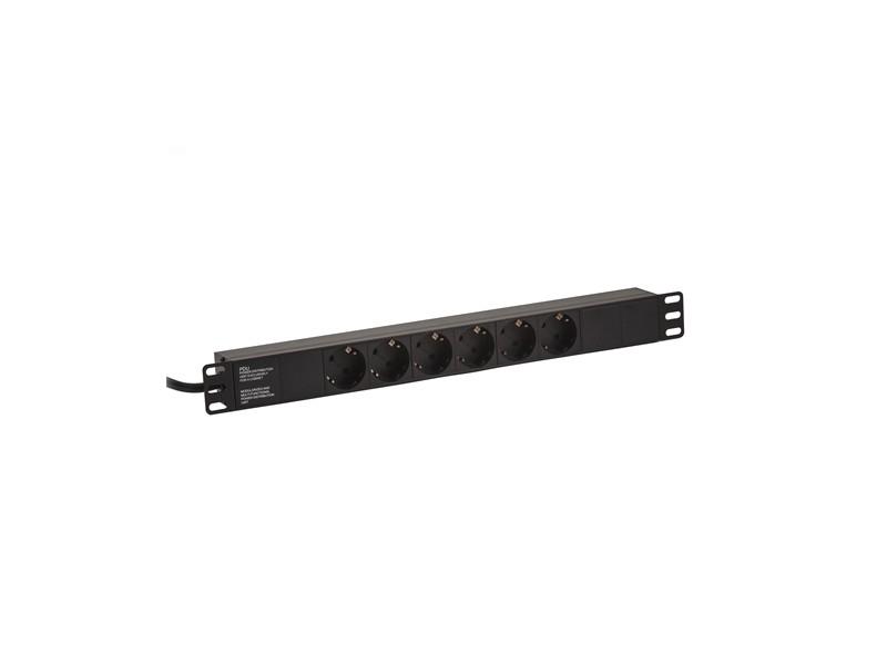 LanPlus PDU 220V LP-1U-6SCH 2.0m