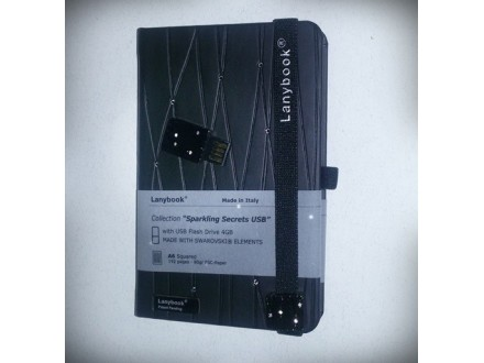 Lanybook A6 Sparkl + USB LN24S