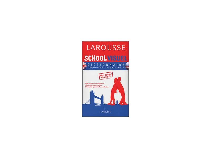 Larousse school visuel French DICTIONNAIRE