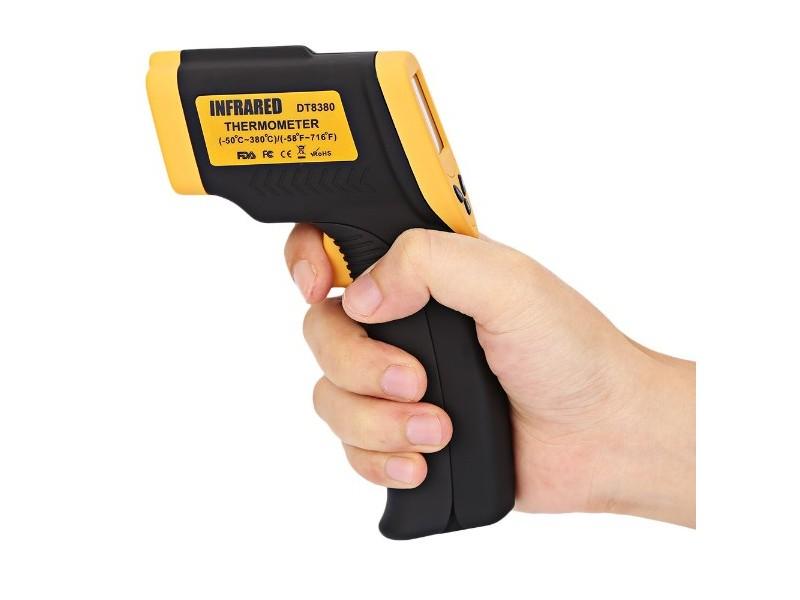 Laserski bezicni toplomer DT8380