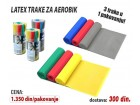 Latex Trake - Pilates Trake - set 3 in 1